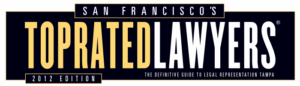 San Francisco Top Rated Lawyers 2012 Logo