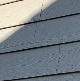 cracked Allura siding leading to lawsuit