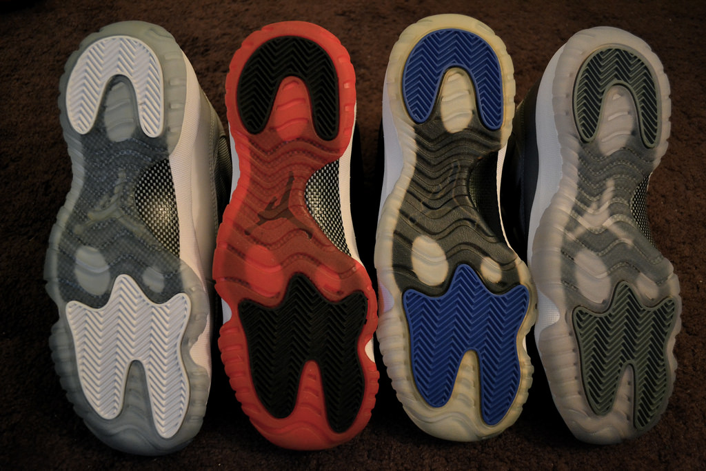 Nike Air Jordan Icy-Sole Yellowing