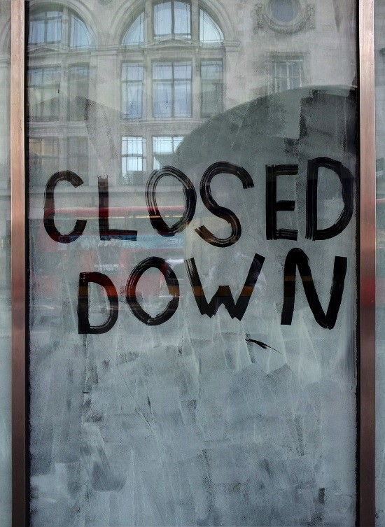 a business closes without warning in violation of California WARN Act