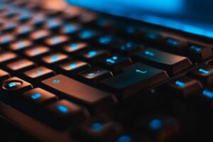 hacker's keyboard in doordash data breach